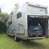 Grand camping-car.