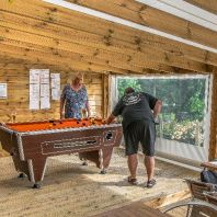 Billard dans le Snack-bar